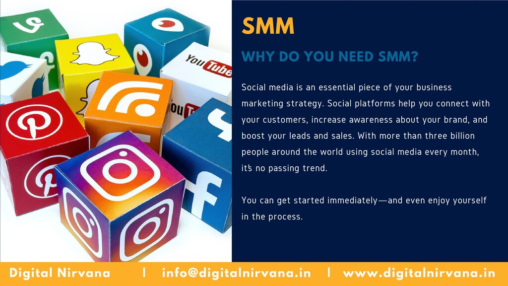 SMM WHY DO YOU NEED SMM? Social media is an ess...