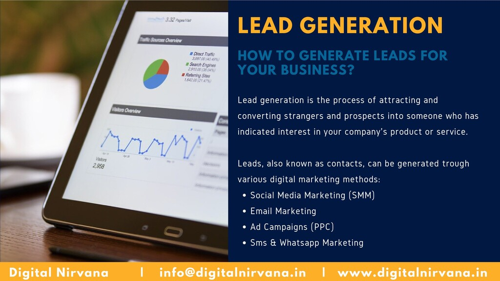 LEAD GENERATION HOW TO GENERATE LEADS FOR YOUR ...