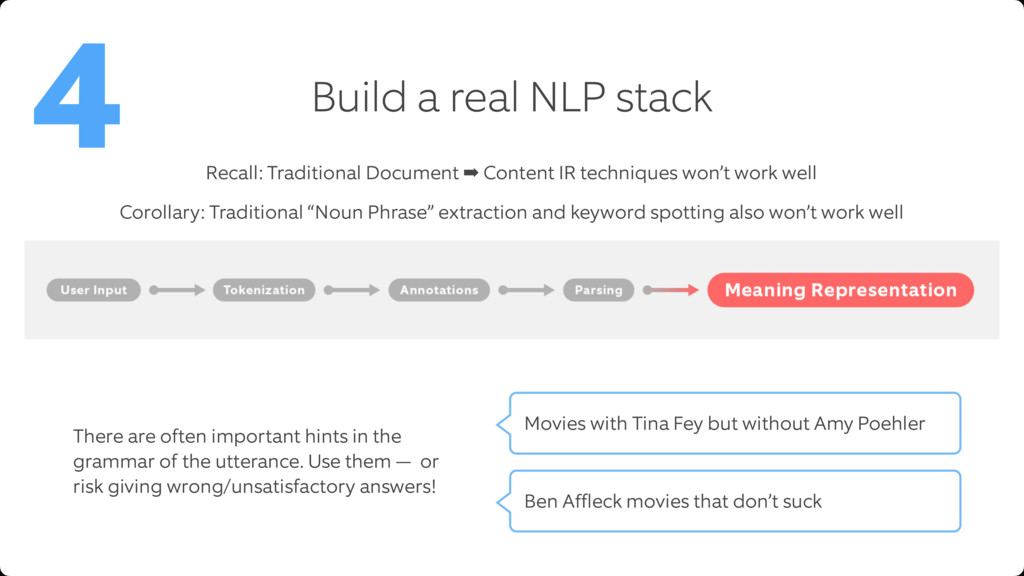 Build a real NLP stack 4 Recall: Traditional Do...