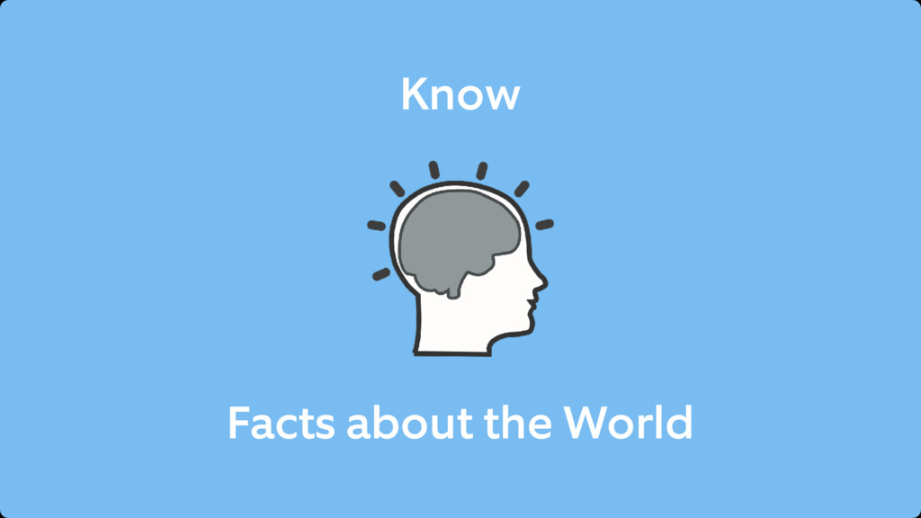 Know Facts about the World