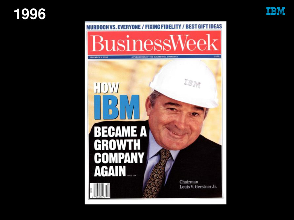 © 2014 IBM Corporation 1996