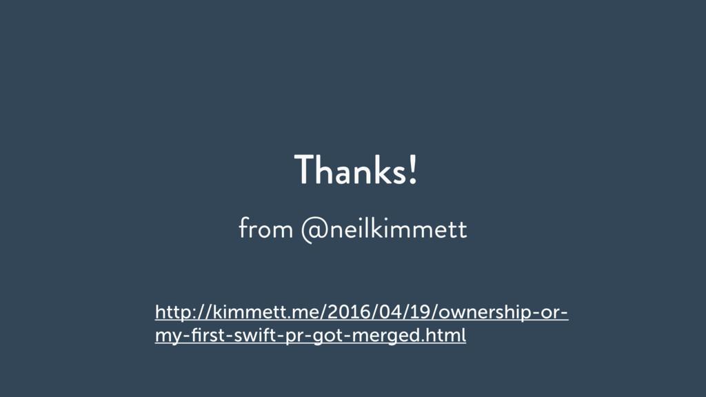 Thanks! from @neilkimmett http://kimmett.me/201...