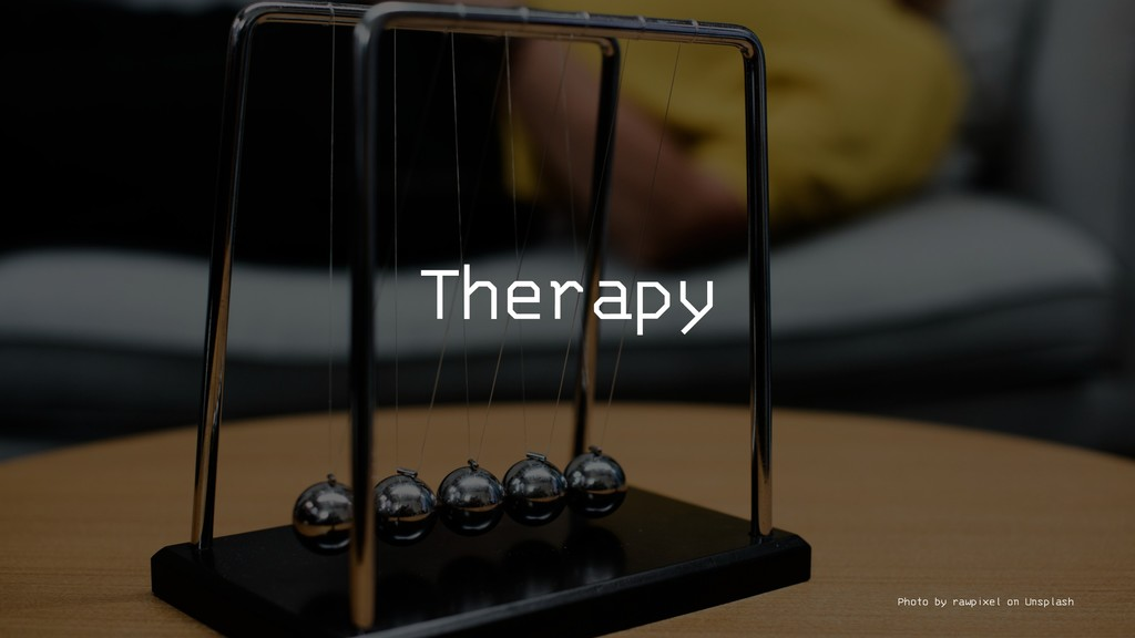 Therapy Photo by rawpixel on Unsplash