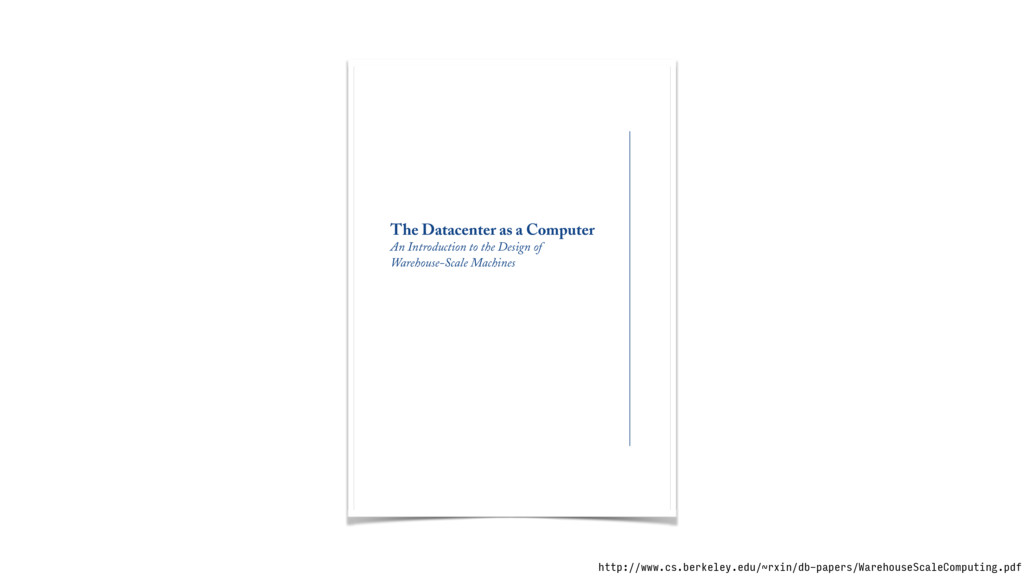 The Datacenter as a Computer An Introduction to...