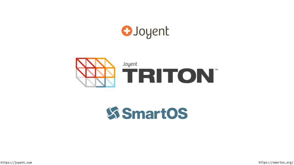 https://smartos.org/ https://joyent.com