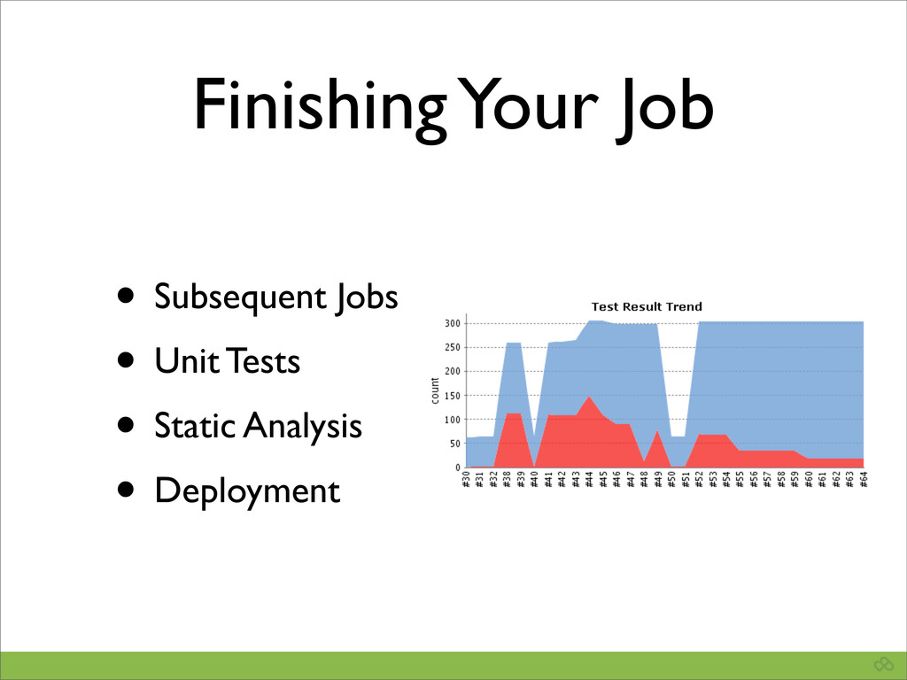 Finishing Your Job • Subsequent Jobs • Unit Tes...
