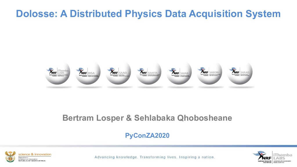 Dolosse: A Distributed Physics Data Acquisition...