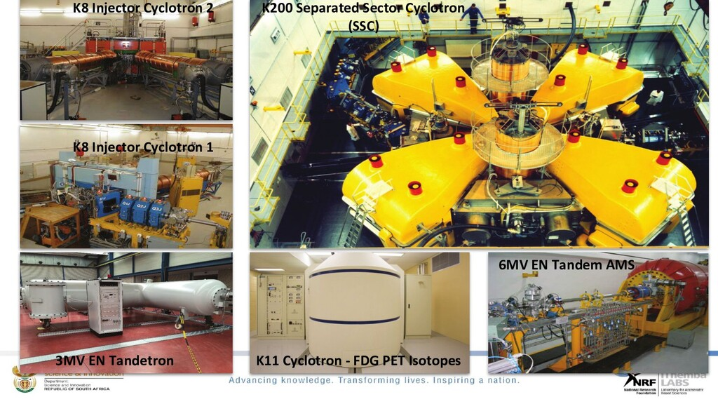K8 Injector Cyclotron 1 K8 Injector Cyclotron 2...