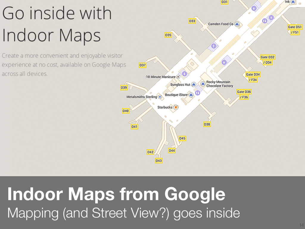 14 Indoor Maps from Google  Mapping (and Stree...