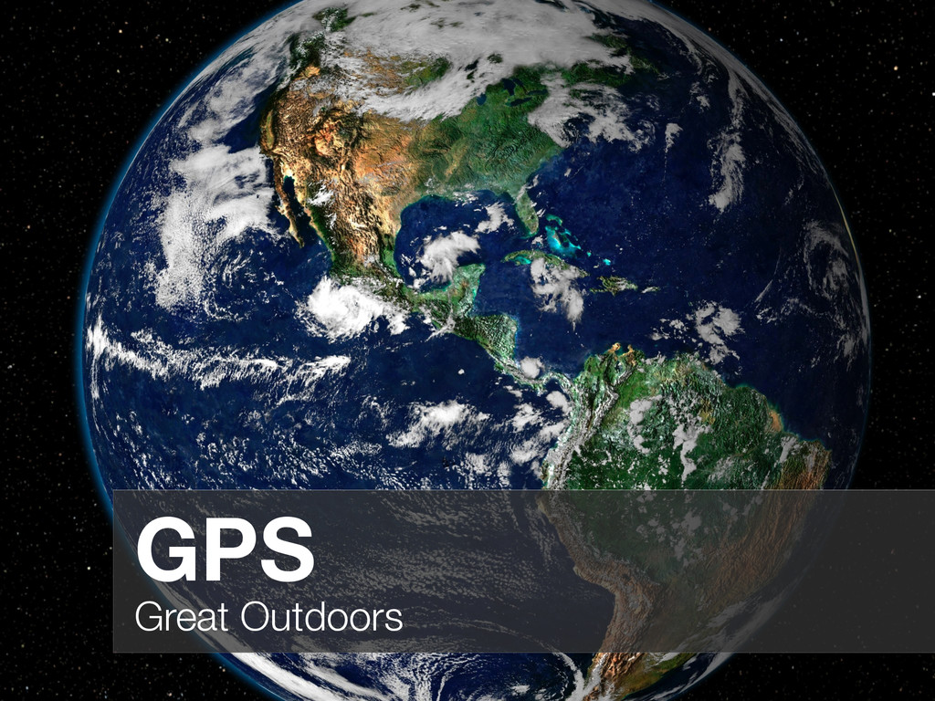 GPS Great Outdoors