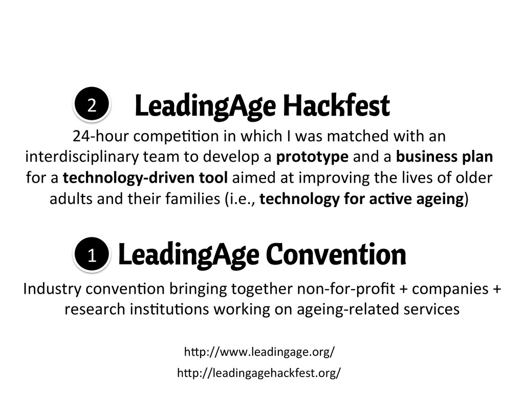 LeadingAge Convention Industry	