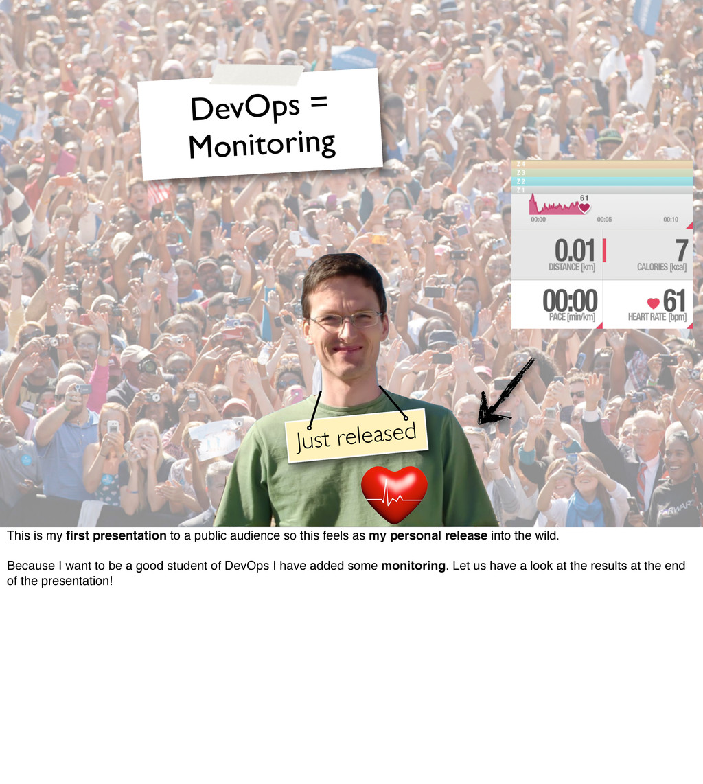 Just released DevOps = Monitoring This is my fir...