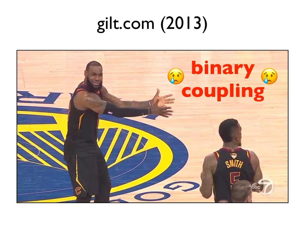 binary coupling gilt.com (2013)