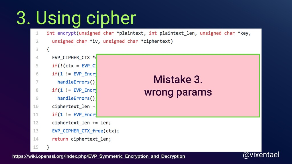 3. Using cipher @vixentael https://wiki.openssl...