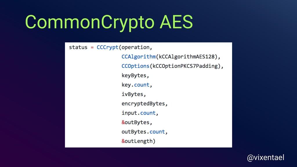CommonCrypto AES @vixentael