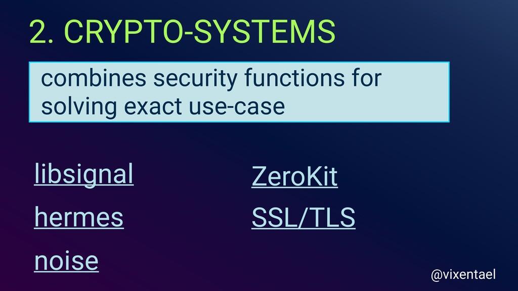 2. CRYPTO-SYSTEMS libsignal hermes SSL/TLS Zero...