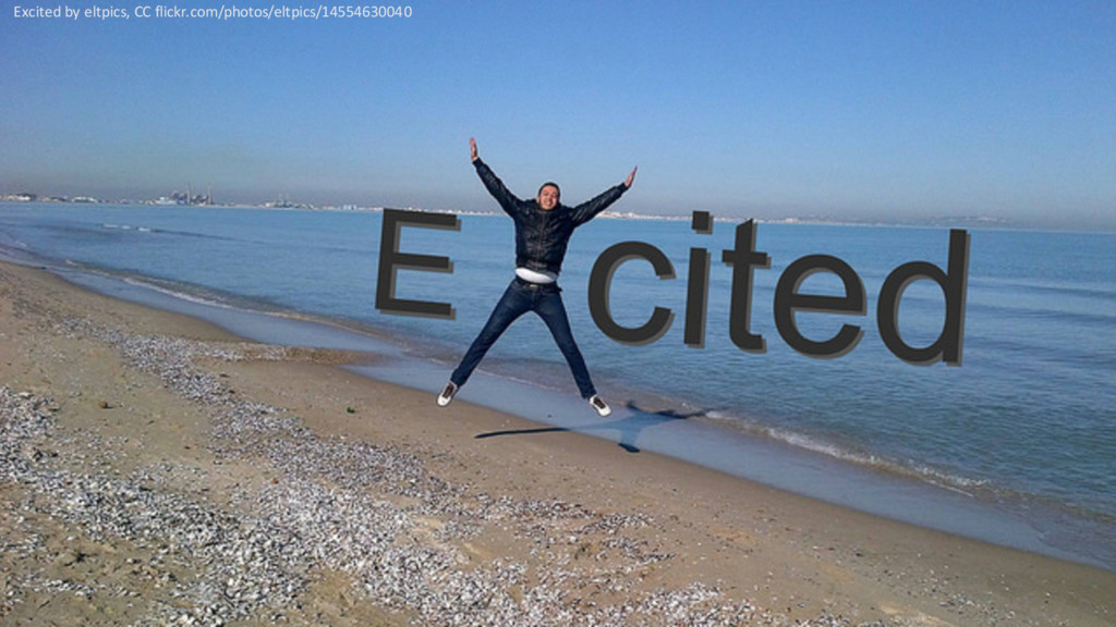 @PreusslerBerlin Excited by eltpics, CC flickr....