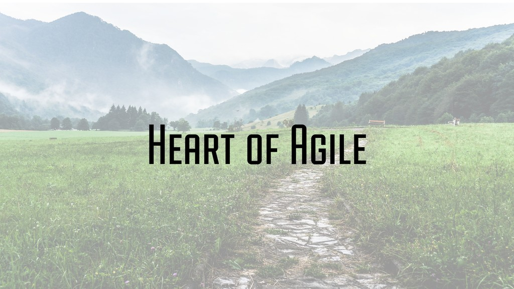 Heart of Agile