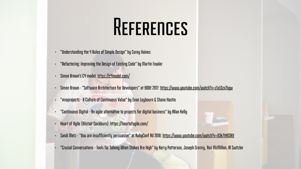 "References • ""Understanding the 4 Rules of Simp..."