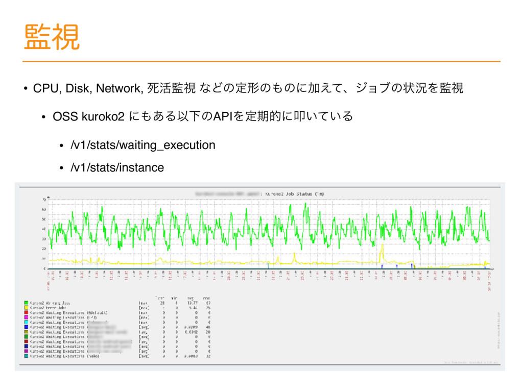 ࢹ • CPU, Disk, Network, ࢮ׆ࢹ ͳͲͷఆܗͷͷʹՃ͑ͯɺδϣϒͷ...