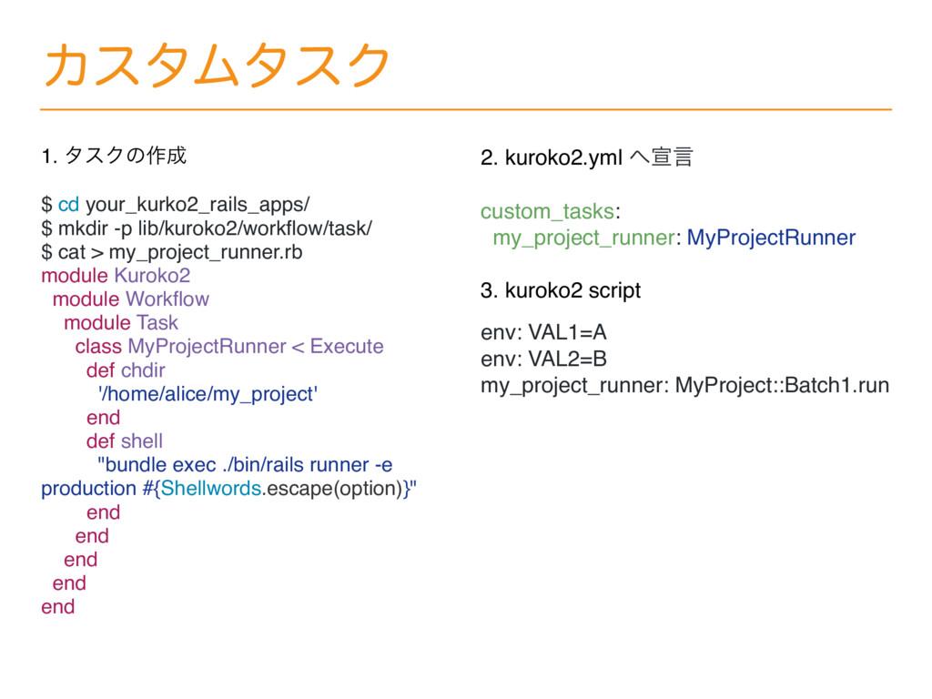 ΧελϜλεΫ 1. λεΫͷ࡞ $ cd your_kurko2_rails_apps/ ...