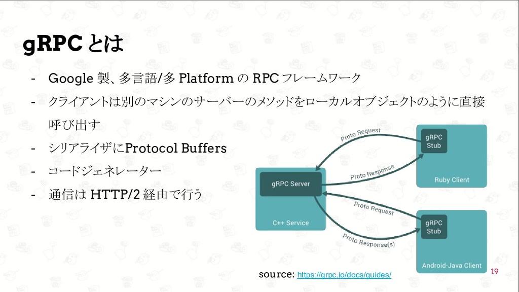 GoConference'19  gRPC とは - Google 製、多言語/多 Plat...