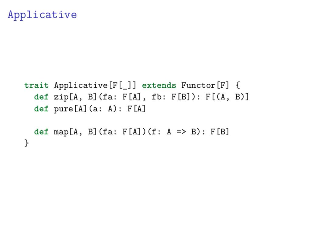 Applicative trait Applicative[F[_]] extends Fun...