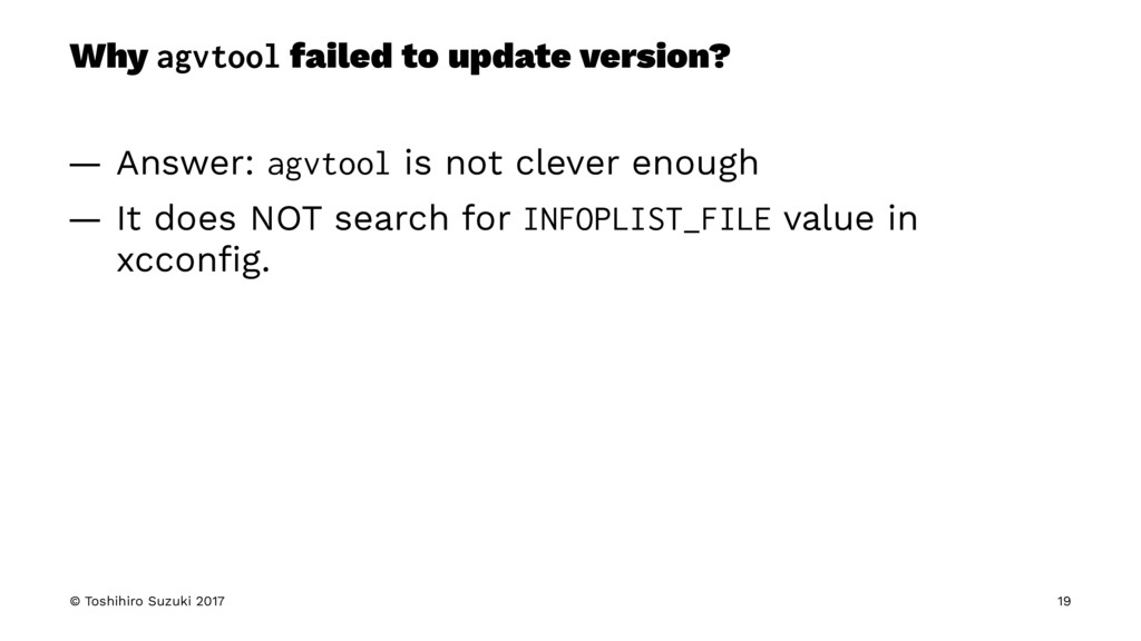 Why agvtool failed to update version? — Answer:...