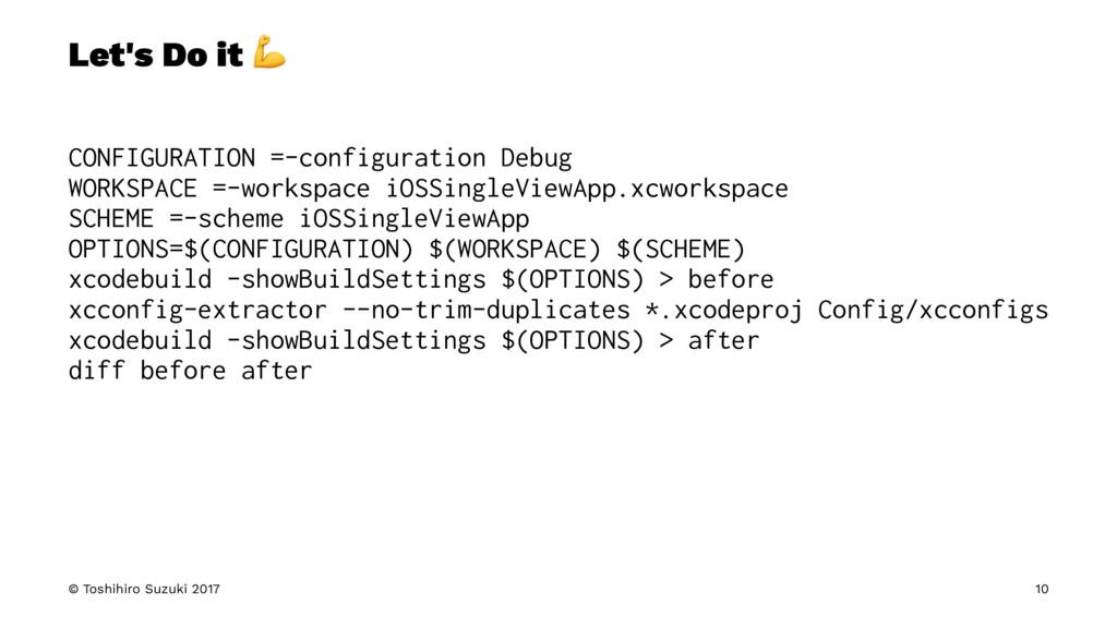 Let's Do it ! CONFIGURATION =-configuration Deb...