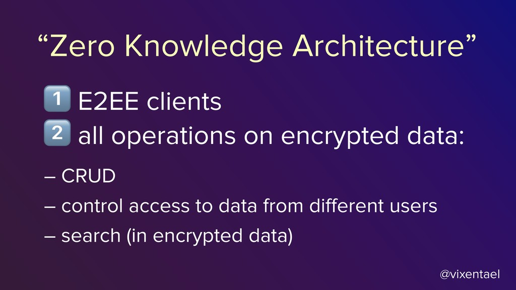 @vixentael % all operations on encrypted data: ...