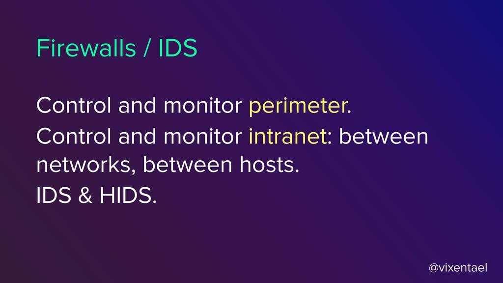 @vixentael Control and monitor perimeter. Contr...