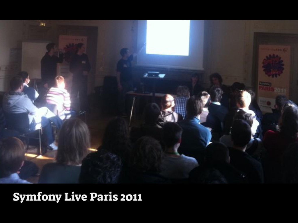 Symfony Live Paris 2011