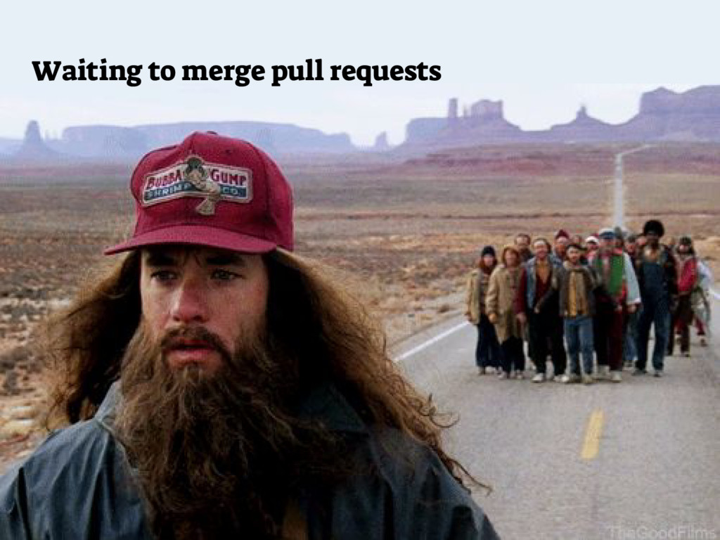Waiting to merge pull requests