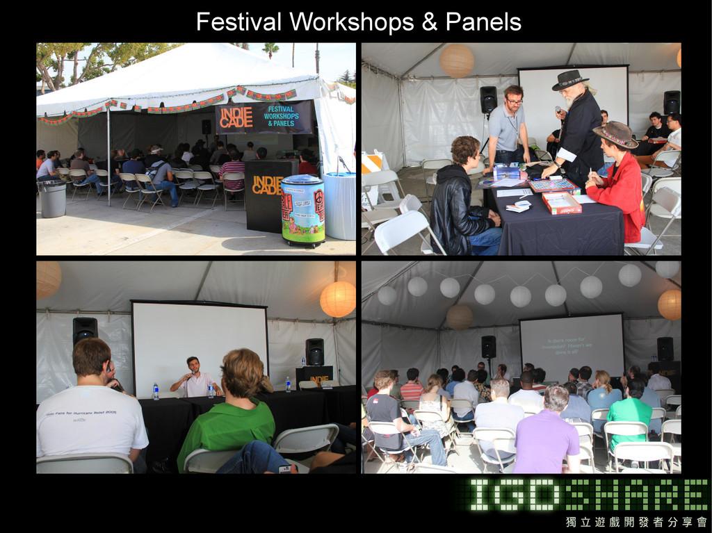 Festival Workshops & Panels