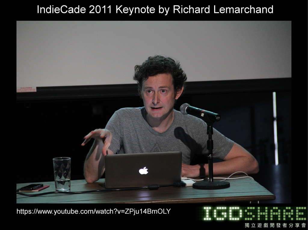 IndieCade 2011 Keynote by Richard Lemarchand ht...
