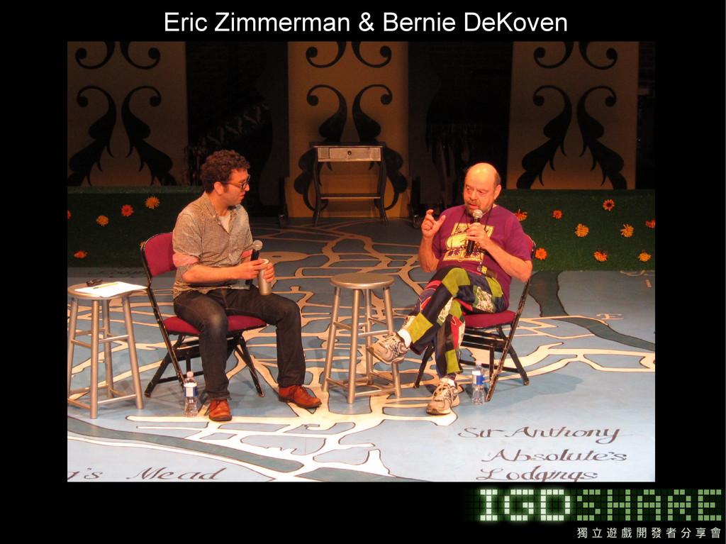 Eric Zimmerman & Bernie DeKoven
