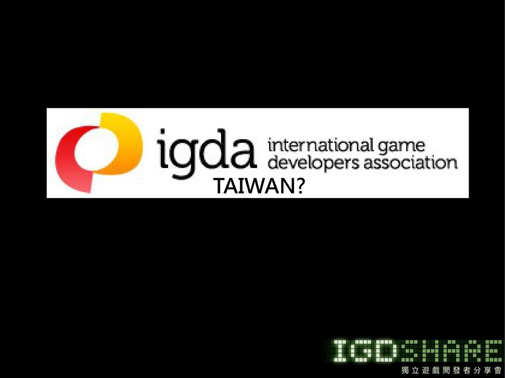 TAIWAN?