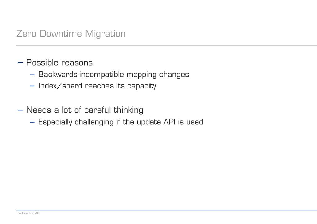 codecentric AG Zero Downtime Migration − Possib...