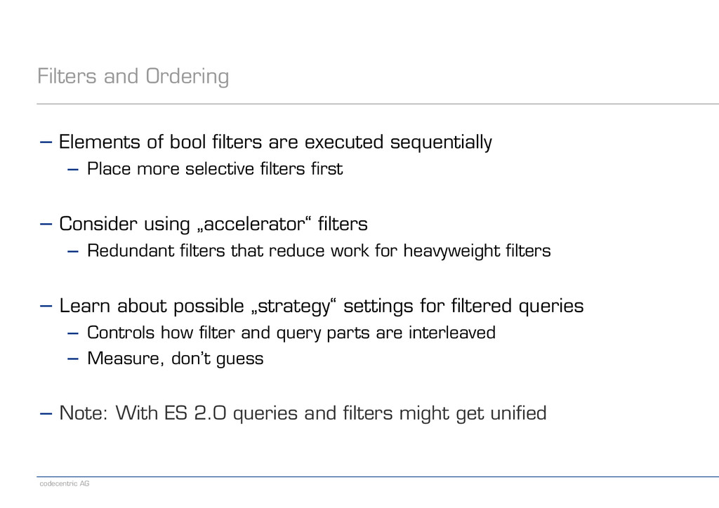 codecentric AG Filters and Ordering − Elements ...