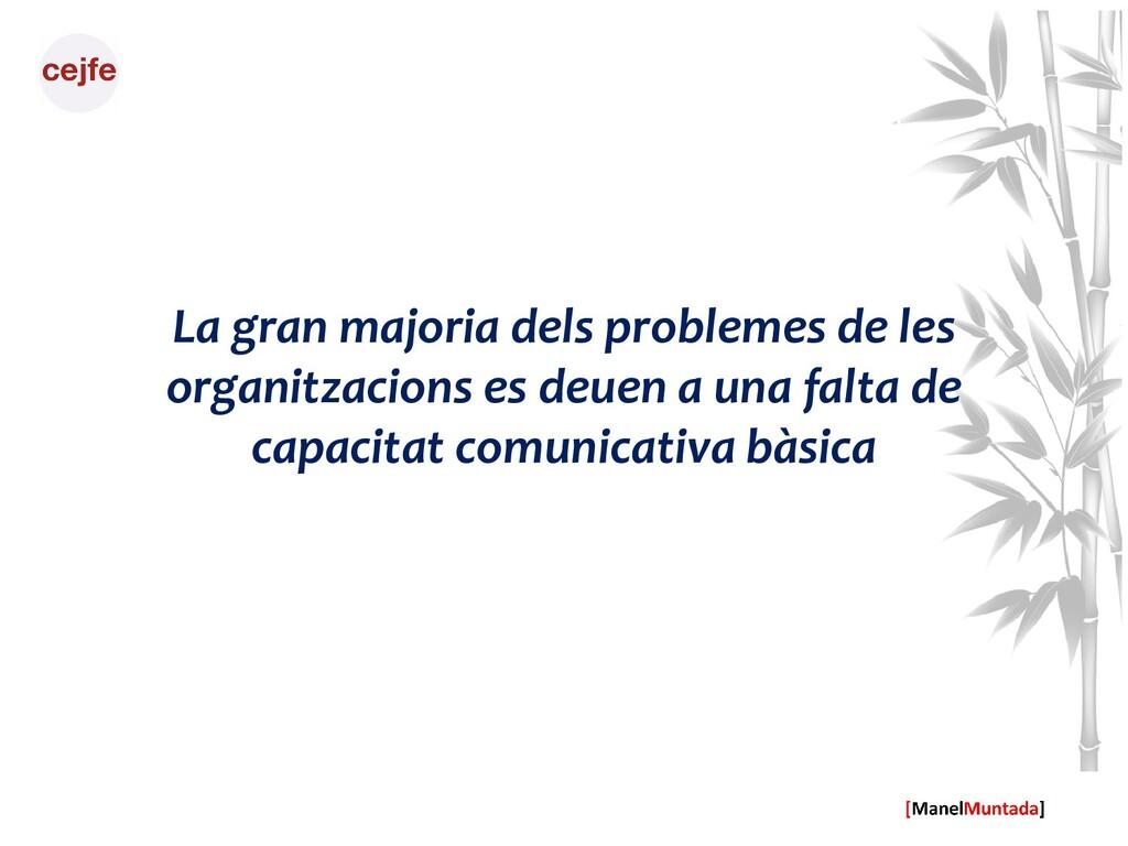 La gran majoria dels problemes de les organitza...
