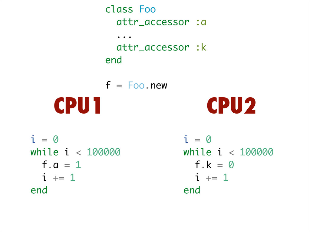 class Foo attr_accessor :a ... attr_accessor :k...