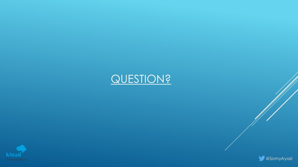 QUESTION? @SomyAyazi