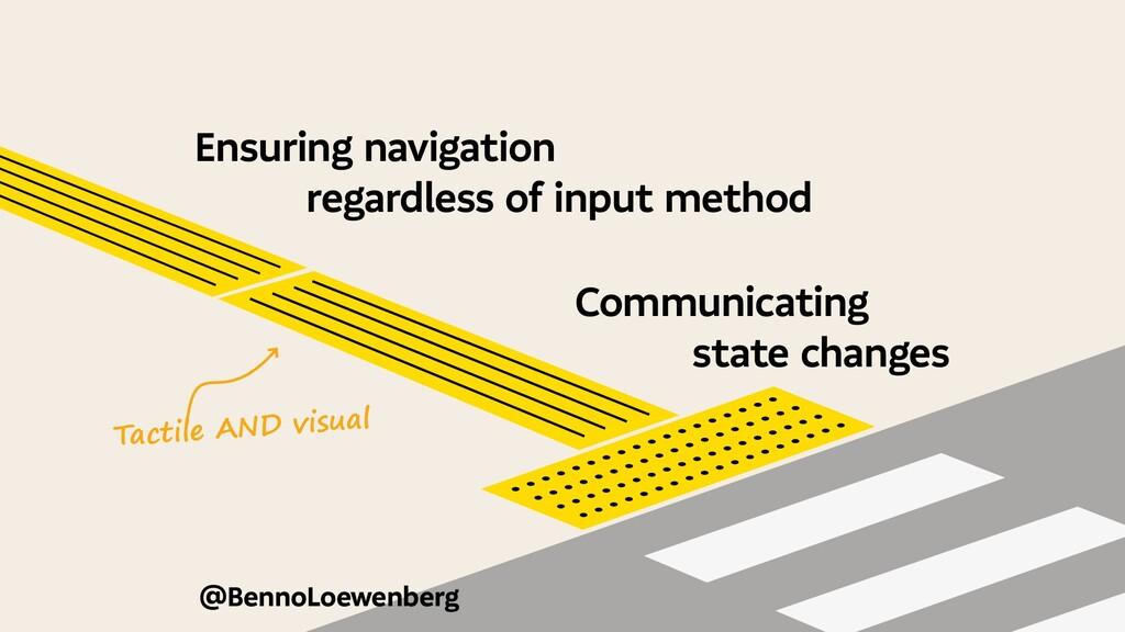 @BennoLoewenberg Ensuring navigation regardless...