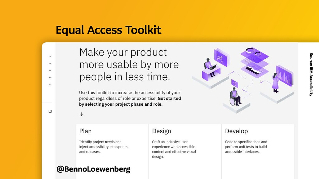 @BennoLoewenberg Equal Access Toolkit Source: ...