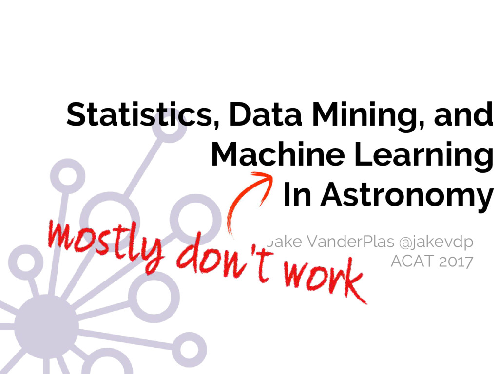 Statistics, Data Mining, and Machine Learning I...