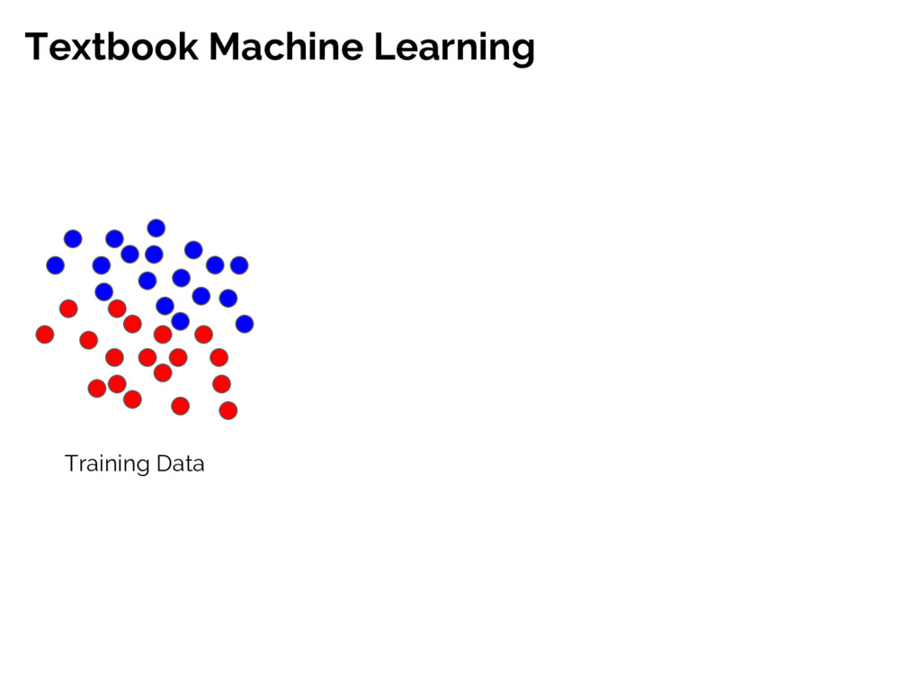Textbook Machine Learning Training Data