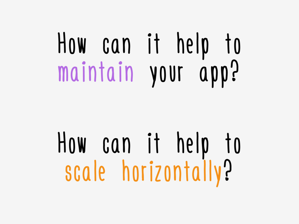 How can it help to maintain your app? How can i...