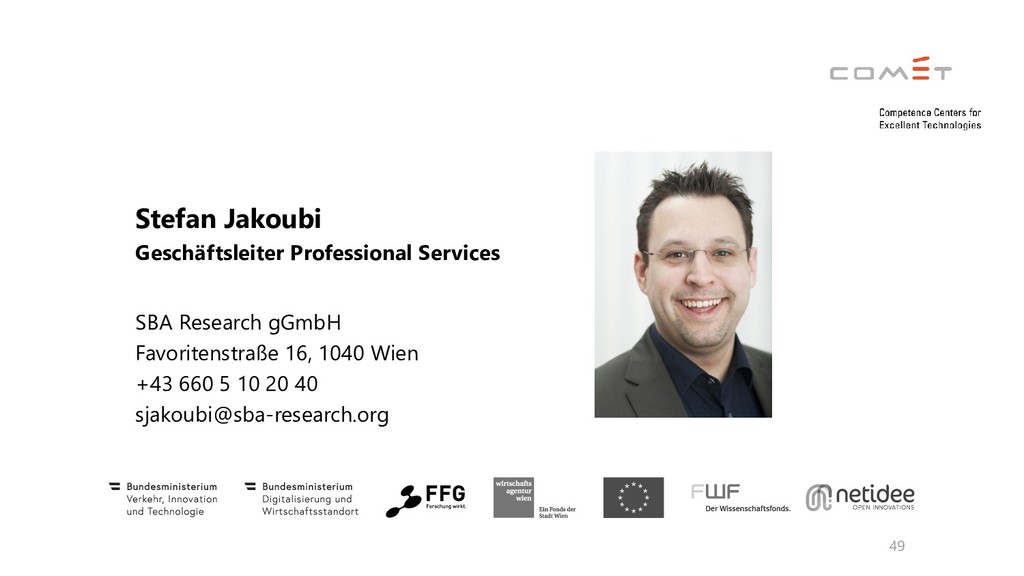 49 Stefan Jakoubi Geschäftsleiter Professional ...