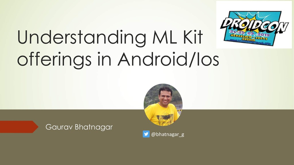 Understanding ML Kit offerings in Android/Ios G...