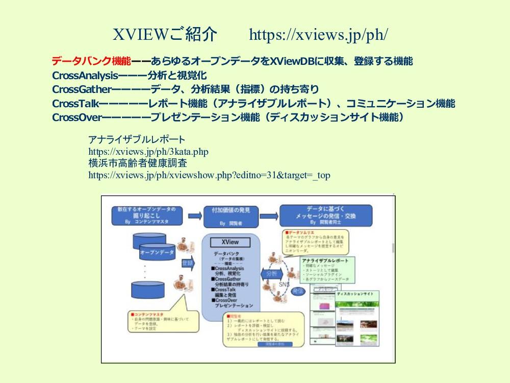 XVIEWご紹介 https://xviews.jp/ph/ データバンク機能ーーあらゆるオー...